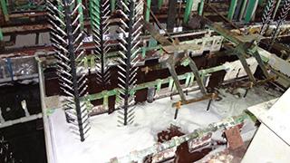 ニッケル―クロムめっき作業工程